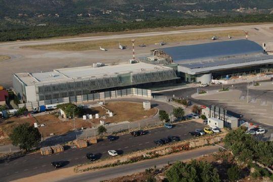 Вид на аэропорт Дубровника