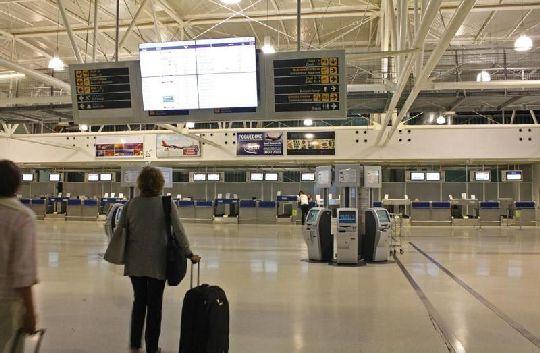 Внутри аэропорта г. Пула