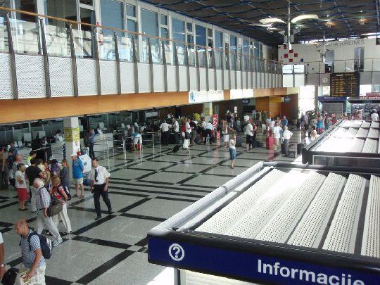 В аэропорте Сплита трудно заблудиться, он очень небольшой