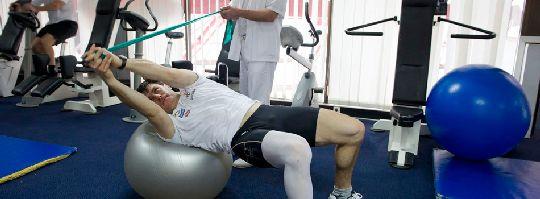Спортивный центр оснащён всем необходимым для поддержания хорошей физической формы