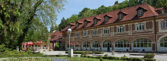 ''Даруварске Топлице'' - знаменитый бальнеологический курорт, расположенный в лесной зоне