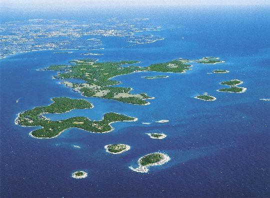 Бриуны - группа островов в северной части Адриатического моря