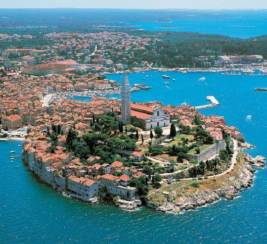 Истрия - очаровательный полуостров в северной части Хорватии