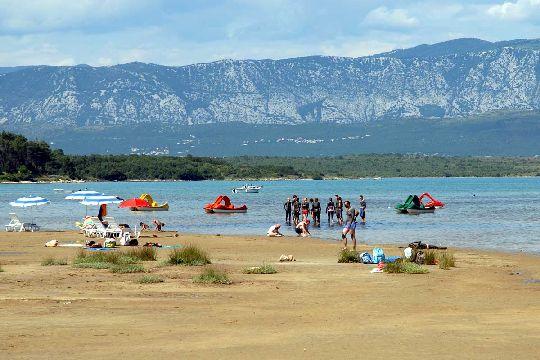 Пляж ''Soline'' - природный целитель