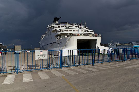 Порт в городе Сплит