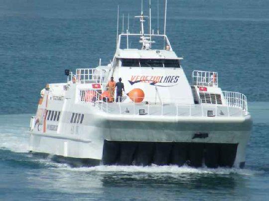 ''Venezia Lines'' - паромная компания, соединяющая Италию с Хорватией, Словенией и Албанией