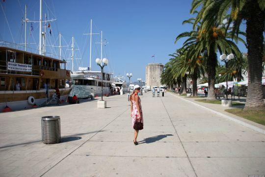 Городская гаваинь Сплита и прогулки по набережной