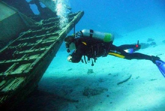 Нумидия - затонувшее судно, длина которого достигает 120 метров!