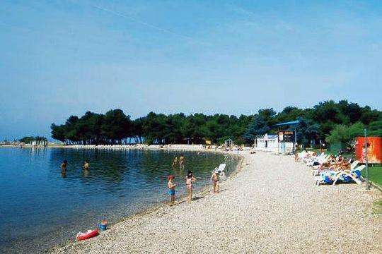 Лагуна - один из наиболее посещаемых пляж Умага